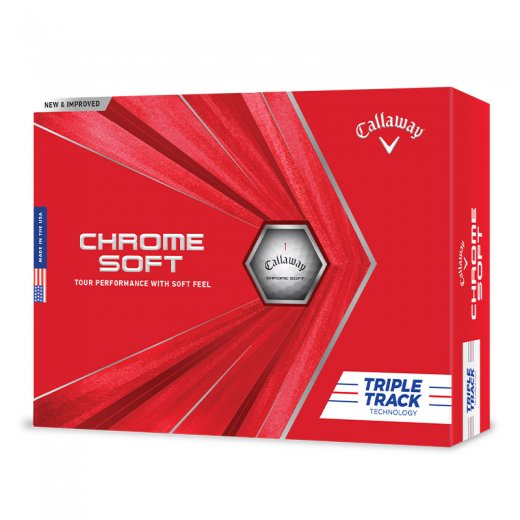 Callaway Chrome Soft Triple Track 2020 - Vit