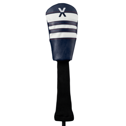Callaway Vintage Hybrid Headcover - Navy/White/Red
